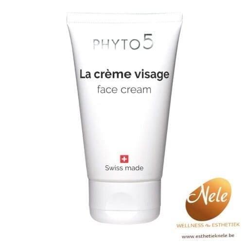 PHYTO 5 La Crème Visage Crème Biostimulante Wellness Esthetiek Nele