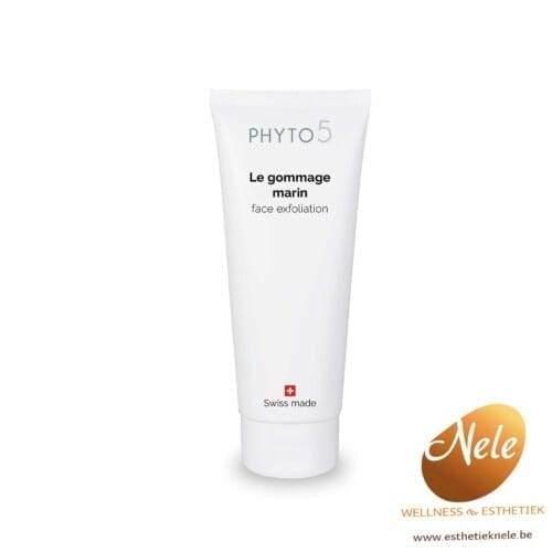 Phyto 5 Gommage Marin scrub voor gelaat Wellness Esthetiek Nele