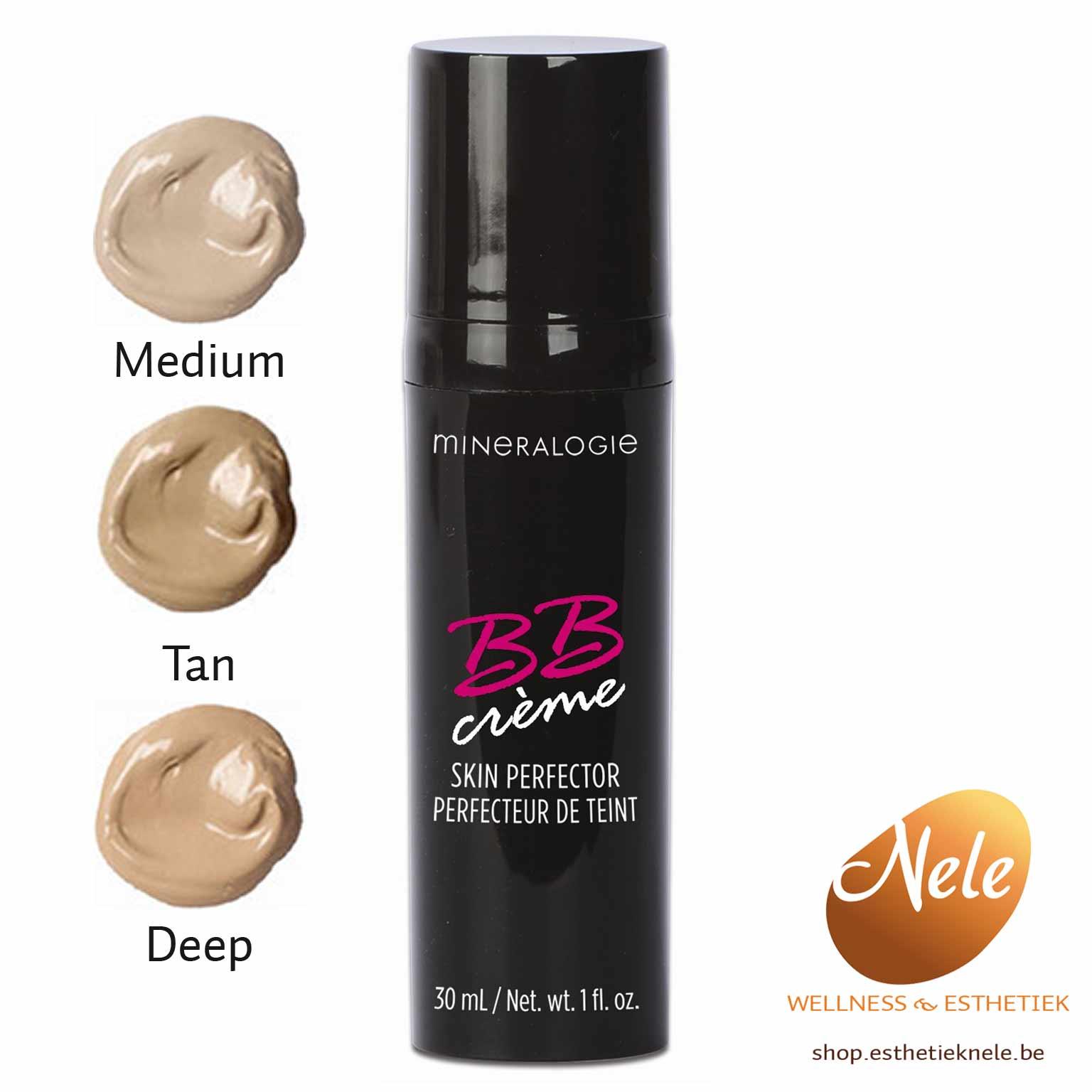 Mineralogie Mineral BB Cream Crème Wellness Esthetiek Nele