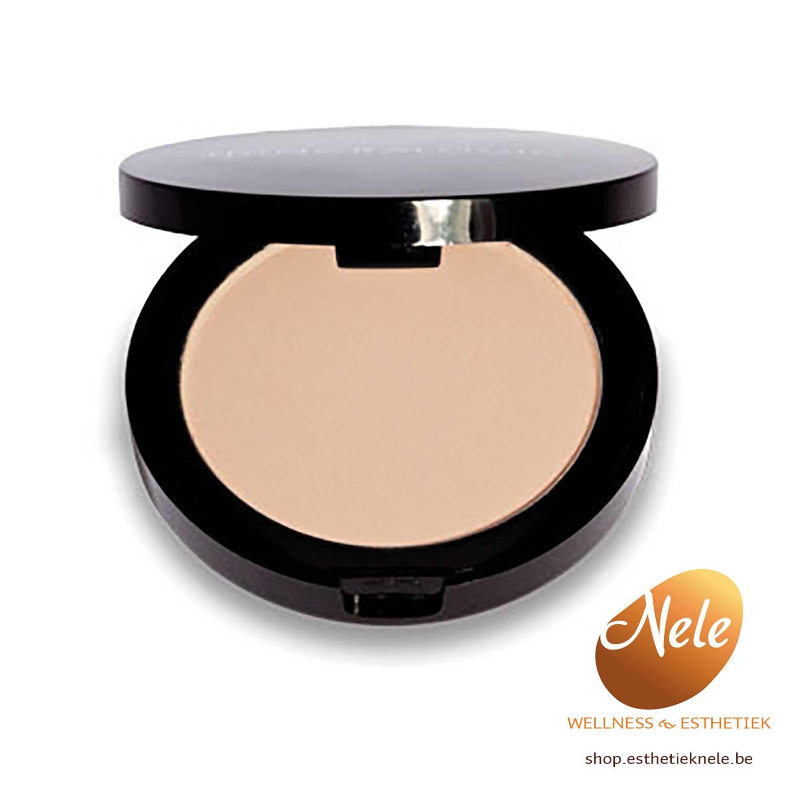 Mineralogie Minerale Make-up Compacte foundation Agate Wellness Esthetiek Nele
