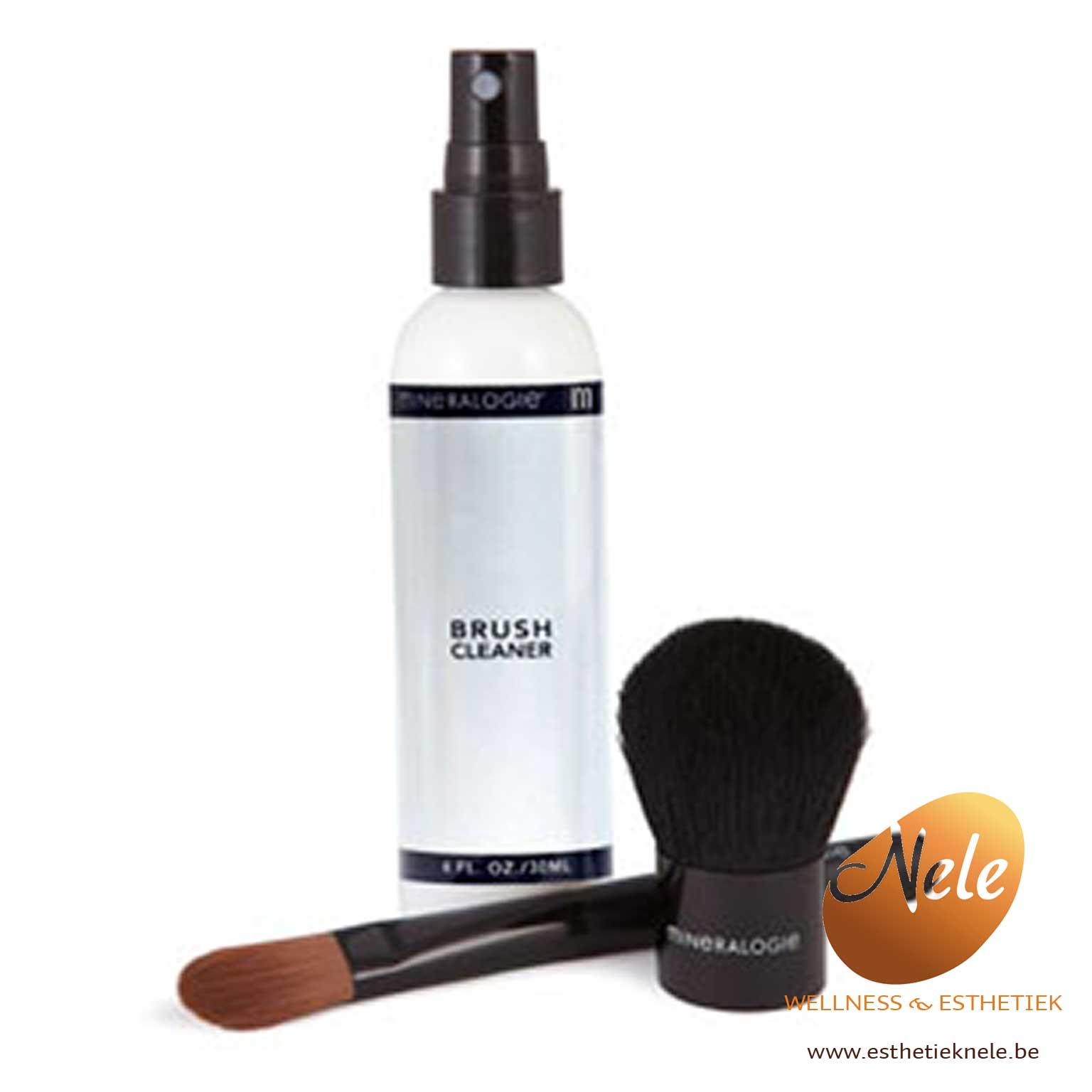 Mineralogie Minerale Make-up Brush Cleaner Wellness Esthetiek Nele