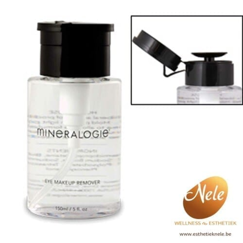 Mineralogie Eye Make-up Remover Wellness Esthetiek Nele