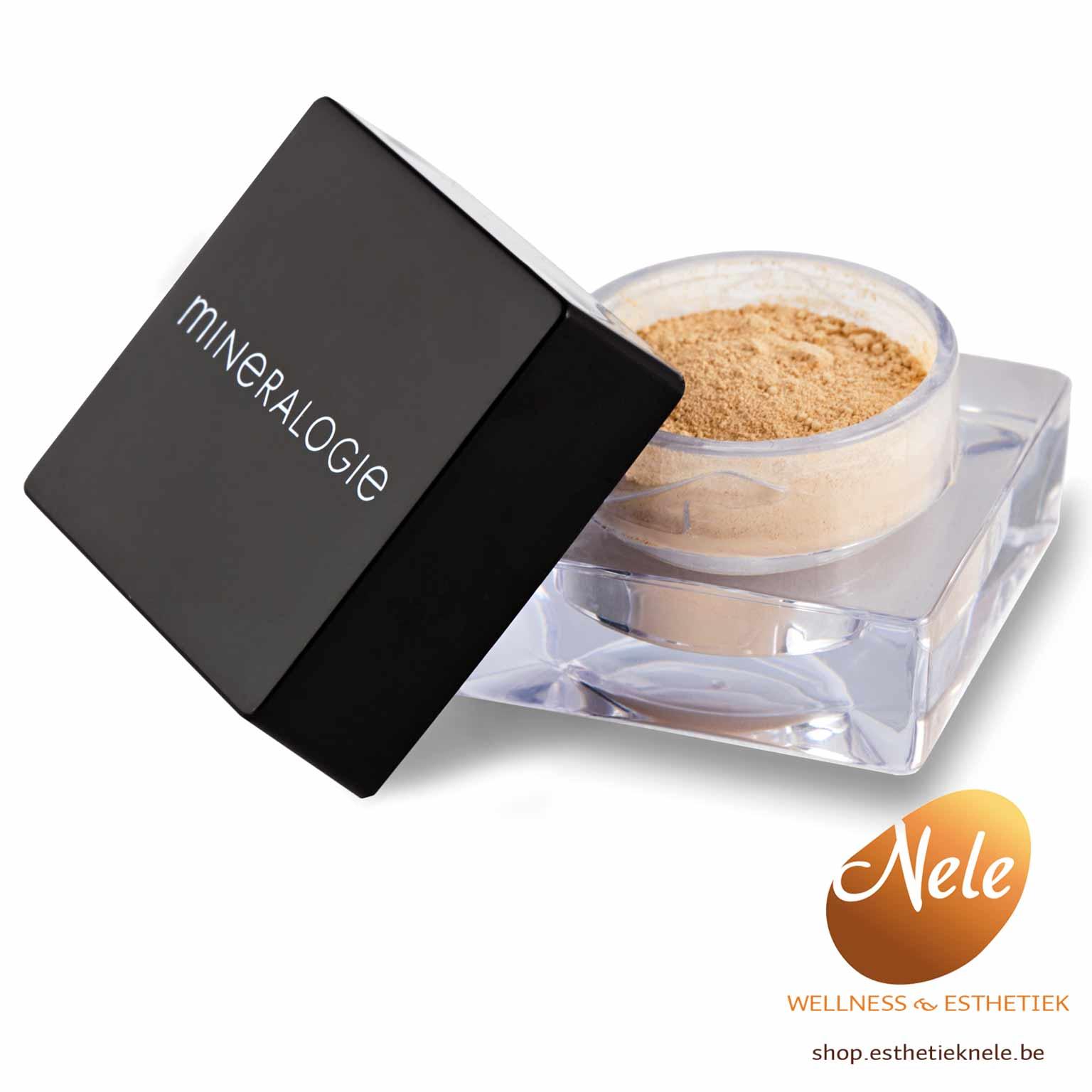 Mineralogie Minerale Make-up Losse Concealer Wellness Esthetiek Nele