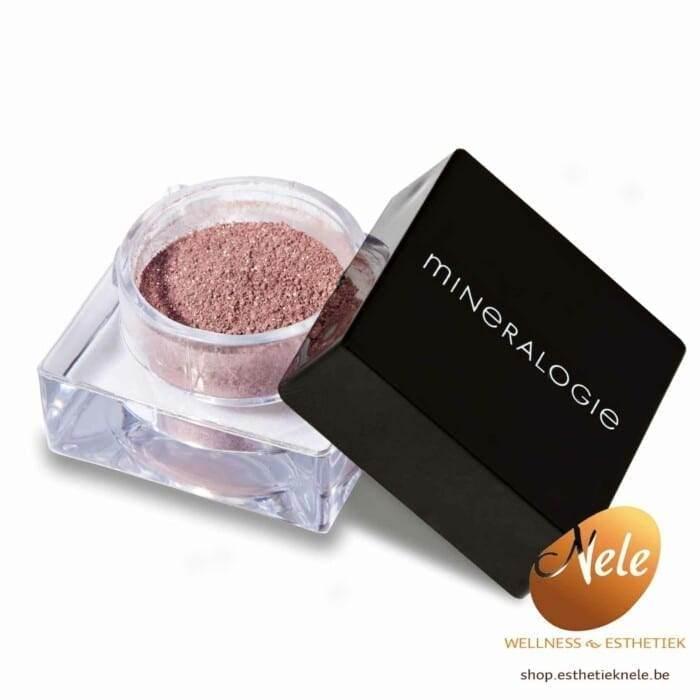 Mineralogie Minerale Make-up Losse Oogschaduw Wellness Esthetiek Nele