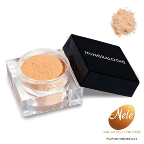 Mineralogie Minerale Make-up losse foundation Agate Wellness EsthetiekNele