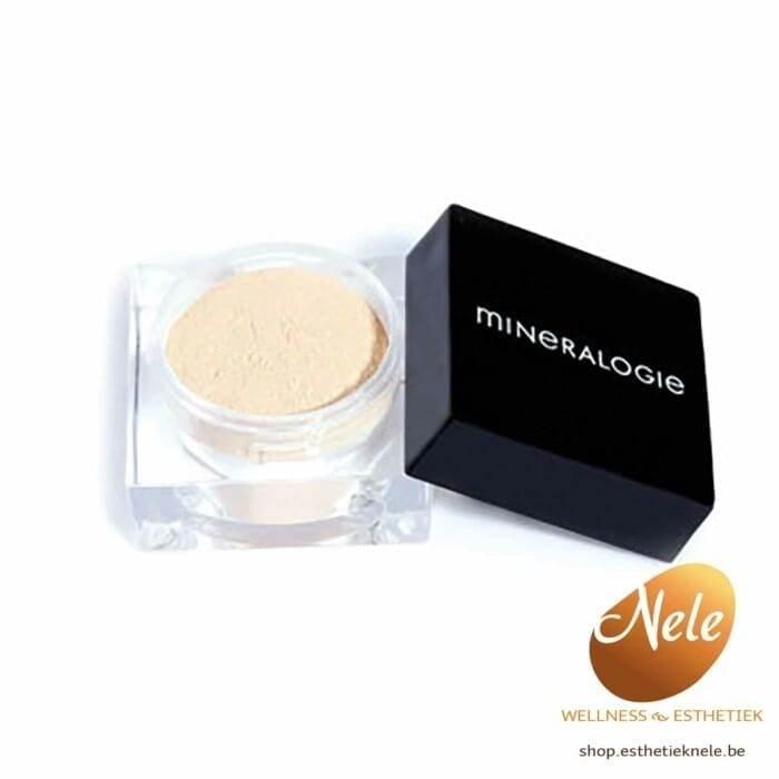 Mineralogie Minerale Matte- Finishing Powder Clear Wellness Esthetiek Nele