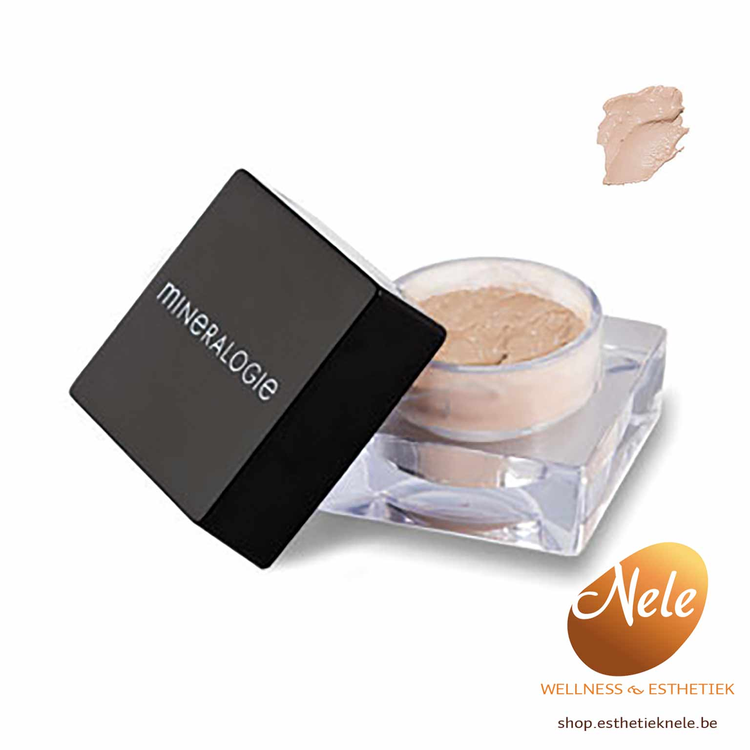 Mineralogie make-up eye shadow primer Wellness Esthetiek Nele