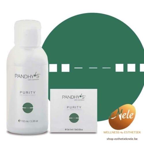 pandhy's sos purity oil blend voor-acne-en-ontstoken-huid-ontsmettend-antiviraal-antibacterieel