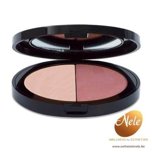 Mineralogie Minerale Make-up Duo Blush Wellness-Esthetiek Nele