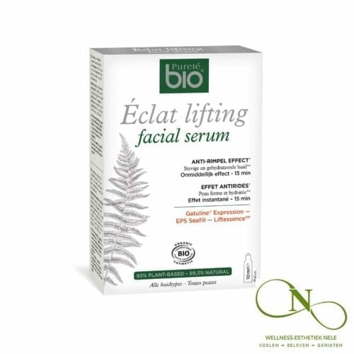 Purete-BIO-Eclat-lifting-Facial-serum-10-ml-roll-on-Wellness-Esthetiek-Nele-Bekegem